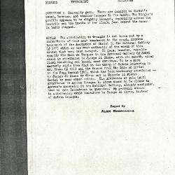 Image for K0296 - Alan Burroughs report, circa 1930s-1940s