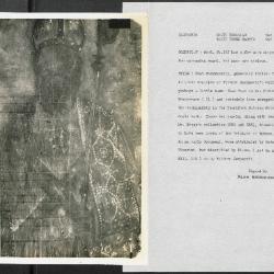 Image for K0294 - Alan Burroughs report, circa 1930s-1940s