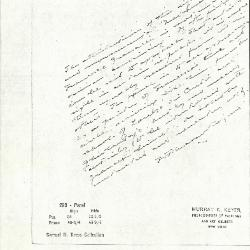 Image for K0298 - Expert opinion by Perkins, circa 1920s-1940s