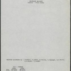 Image for K0312 - Art object record, circa 1930s-1950s