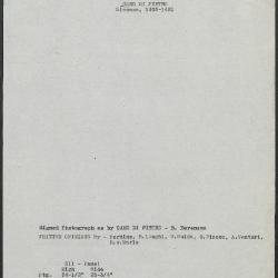 Image for K0311 - Art object record, circa 1930s-1950s