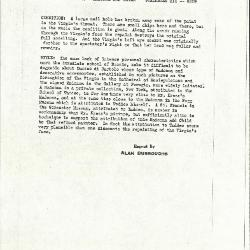 Image for K0310 - Alan Burroughs report, circa 1930s-1940s