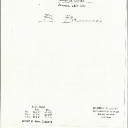 Image for K0310 - Expert opinion by Berenson, circa 1920s-1950s