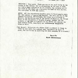 Image for K0308 - Alan Burroughs report, circa 1930s-1940s