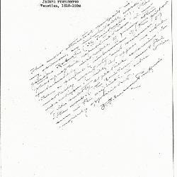 Image for K0304 - Expert opinion by Perkins, circa 1920s-1940s