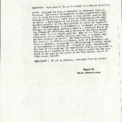 Image for K0305 - Alan Burroughs report, circa 1930s-1940s