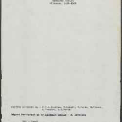 Image for K0315 - Art object record, circa 1930s-1950s