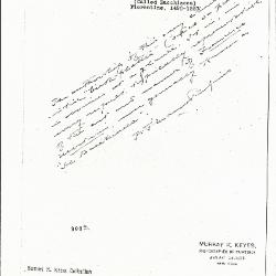Image for K0308 - Expert opinion by Perkins, circa 1920s-1940s