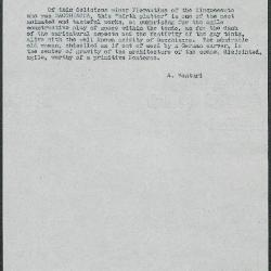 Image for K0308 - Expert opinion by A. Venturi, circa 1920s-1930s