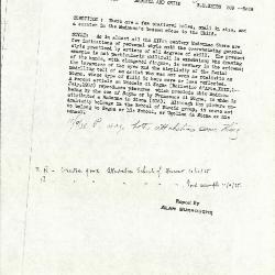 Image for K0309 - Alan Burroughs report, circa 1930s-1940s
