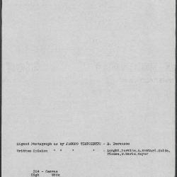 Image for K0304 - Art object record, circa 1930s-1950s