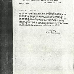 Image for K0311 - Alan Burroughs report, circa 1930s-1940s
