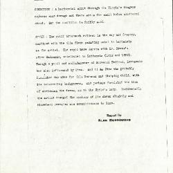 Image for K0322 - Alan Burroughs report, circa 1930s-1940s