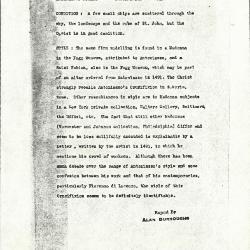 Image for K0318 - Alan Burroughs report, circa 1930s-1940s