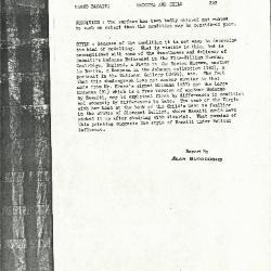 Image for K0323 - Alan Burroughs report, circa 1930s-1940s