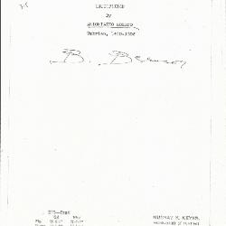 Image for K0318 - Expert opinion by Berenson, circa 1920s-1950s