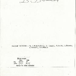 Image for K0336A - Expert opinion by Berenson, circa 1920s-1950s