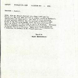 Image for K0339 - Alan Burroughs report, circa 1930s-1940s