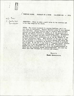 Image for K0338 - Alan Burroughs report, circa 1930s-1940s