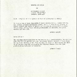 Image for K0337 - Expert opinion by Longhi, circa 1920s-1950s