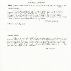 Image for K0334 - Expert opinion by Longhi et al., 1935