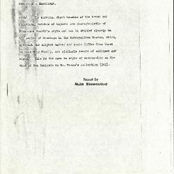 Image for K0329 - Alan Burroughs report, circa 1930s-1940s