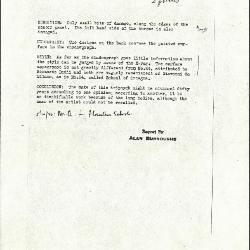 Image for K0033 - Alan Burroughs report, circa 1930s-1940s