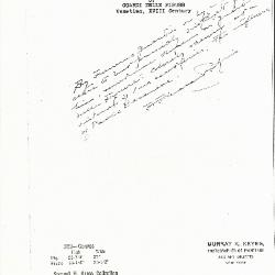 Image for K0329 - Expert opinion by Perkins, circa 1920s-1940s