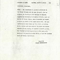Image for K0333 - Alan Burroughs report, circa 1930s-1940s