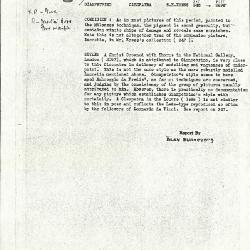 Image for K0347 - Alan Burroughs report, circa 1930s-1940s