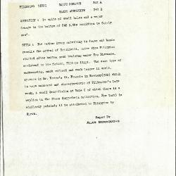 Image for K0342A - Alan Burroughs report, circa 1930s-1940s