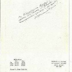 Image for K0342B - Expert opinion by Perkins, circa 1920s-1940s