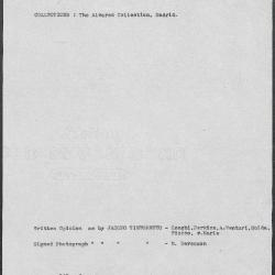 Image for K0343 - Art object record, circa 1930s-1950s
