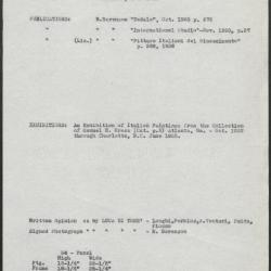 Image for K0034 - Art object record, circa 1930s-1950s