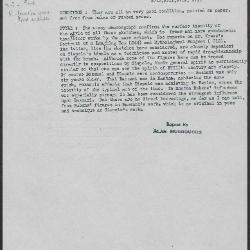 Image for K0349 - Alan Burroughs report, circa 1930s-1940s