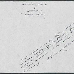 Image for K0340 - Expert opinion by Perkins, circa 1920s-1940s