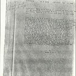 Image for K0345 - Alan Burroughs report, circa 1930s-1940s