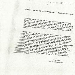Image for K0356 - Alan Burroughs report, circa 1930s-1940s