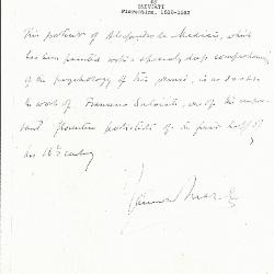 Image for K0353 - Expert opinion by Marle, circa 1920s-1930s