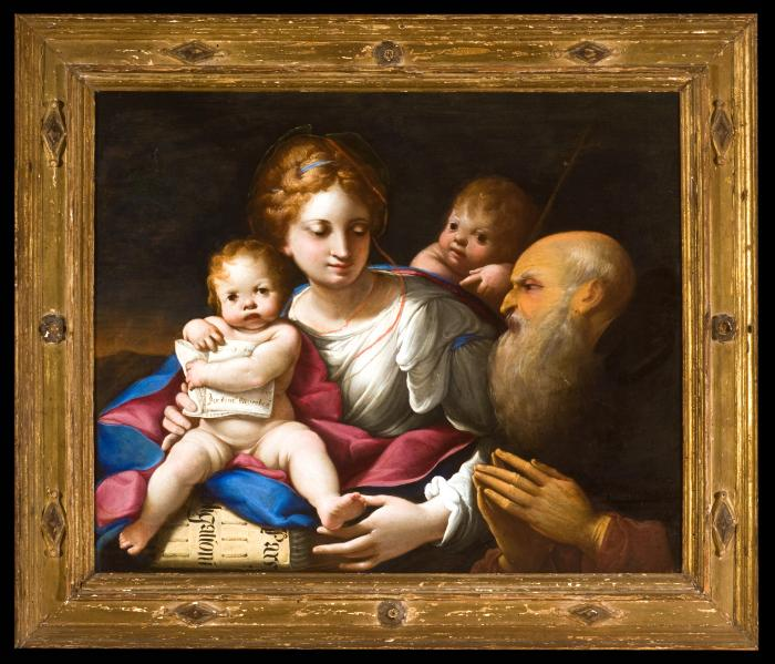 Image for The Holy Family with the Infant Saint John