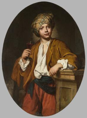 Image for Portrait of a Young Man with a Turban