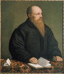 Image for Portrait of a Man of Letters (possibly Giovanni Marcello)