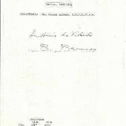 Image for K0362 - Expert opinion by Berenson, circa 1920s-1950s