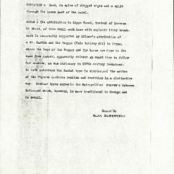 Image for K0373 - Alan Burroughs report, circa 1930s-1940s