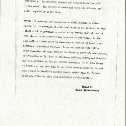Image for K0370 - Alan Burroughs report, circa 1930s-1940s