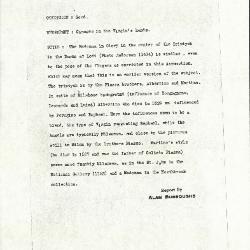Image for K0371 - Alan Burroughs report, circa 1930s-1940s