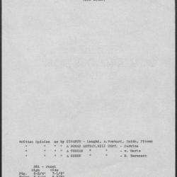 Image for K0361 - Art object record, circa 1930s-1950s