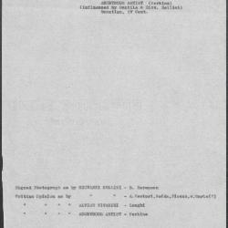 Image for K0370 - Art object record, circa 1930s-1950s