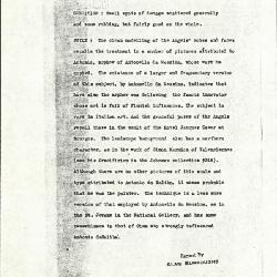 Image for K0367 - Alan Burroughs report, circa 1930s-1940s