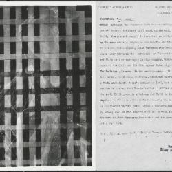 Image for K0369 - Alan Burroughs report, circa 1930s-1940s
